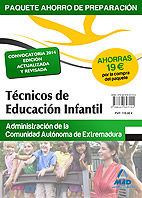 Paquete ahorro tecnico educacion infantil extremadura 2014