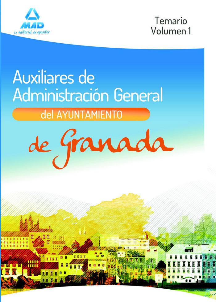 Temario auxiliares administrativos vol i ayunt granada