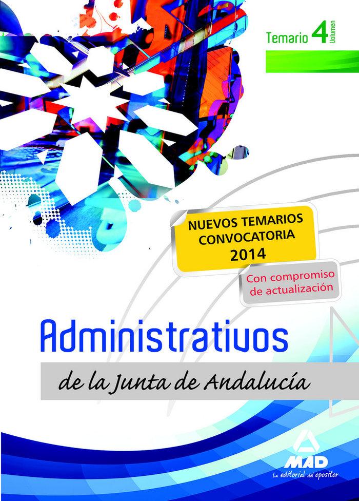 Administrativos junta andalucia turno libro temario iv