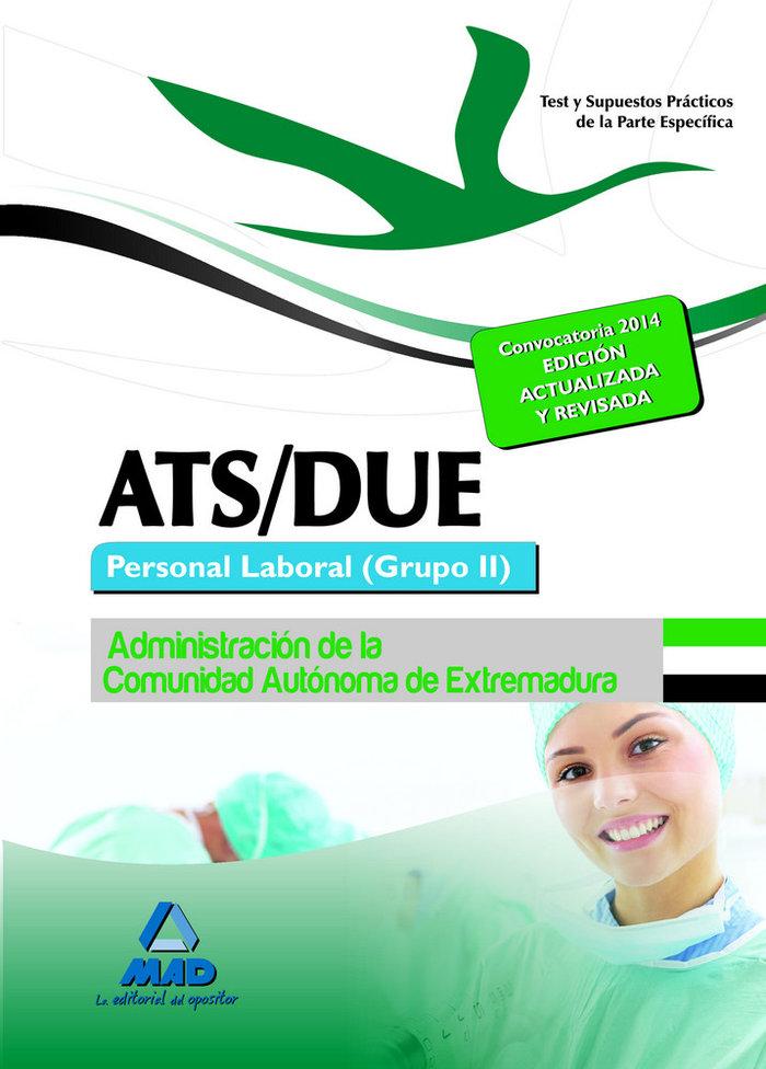 Ats/due. personal laboral (grupo ii) de la administracion