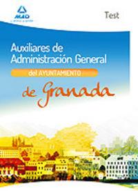 Test auxiliares administ.general ayuntamiento granada