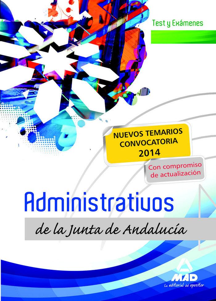 Administrativos de la junta de andalucia turno libre test