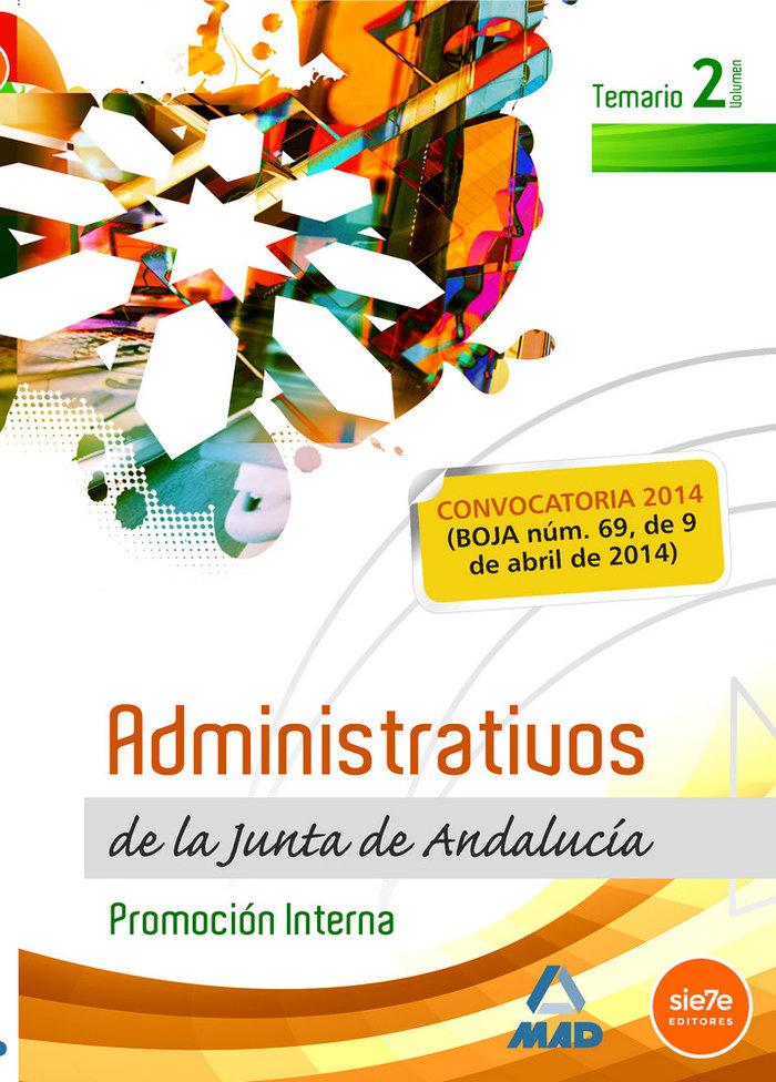 Administrativos de la junta de andalucia vol ii
