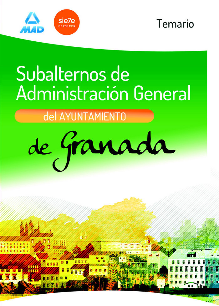 Subalternos administracion general ayuntamiento granada