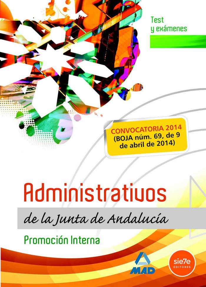 Administrativos de la junta de andalucia test y examenes