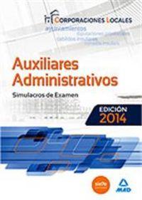 Simulacro de examen auxiliares administrativos corporaciones