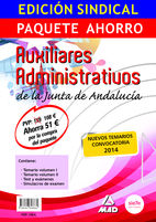 Edicion sindical paquete ahorro auxiliar administrativo de l