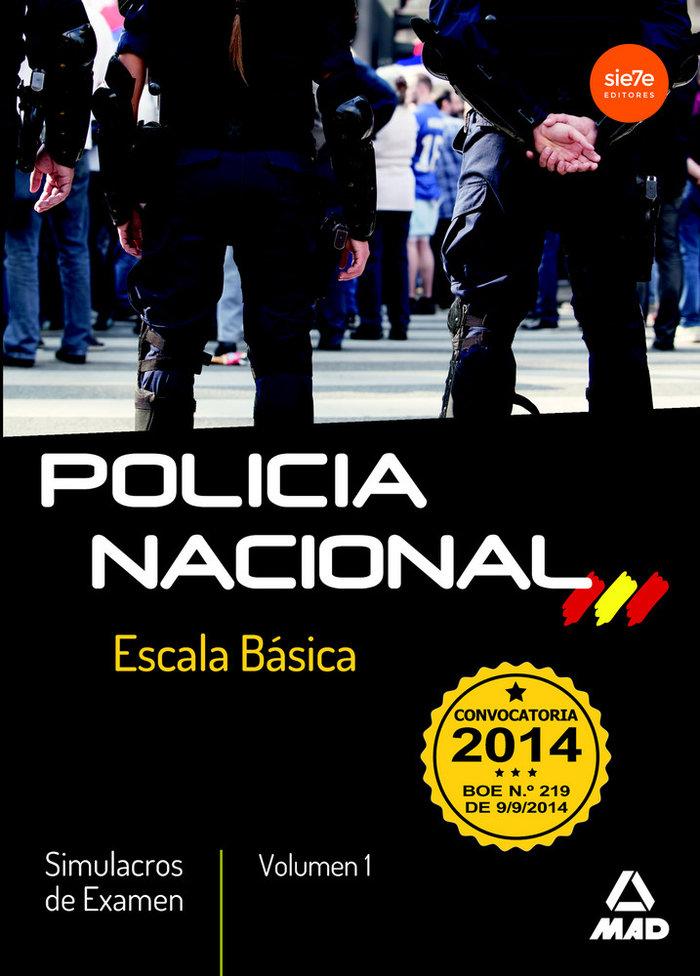 Simulacros de examen policia nacional escala basica
