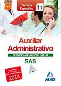 Temario especifico vol 1 auxiliar administrativo servicio a