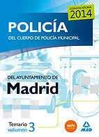 Policia del cuerpo de policia municipal del ayuntamiento de