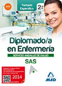 Diplomado enfermeria vol ii sas temario especifico 2014