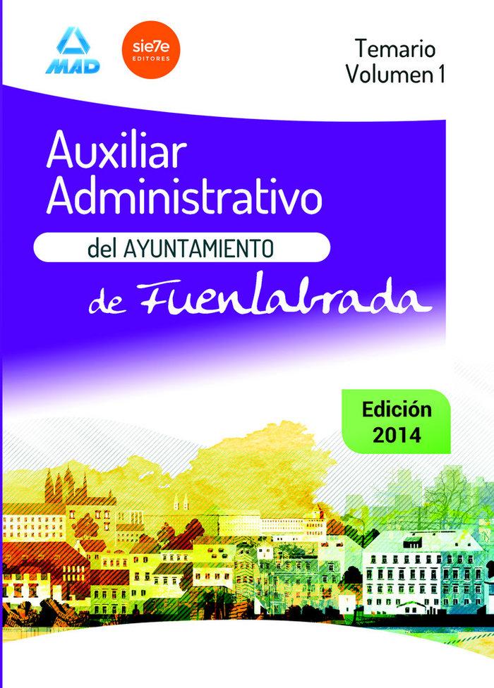 Auxiliar administrativo ayuntamiento fuenlabrada temario v1