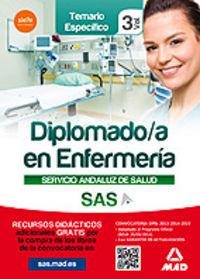 Diplomado en enfermeria vol iii temario especifico sas