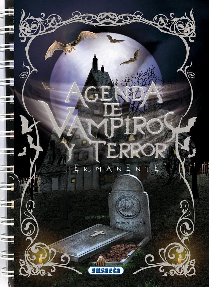 Agenda escolar permanente vampiros y terror 249001