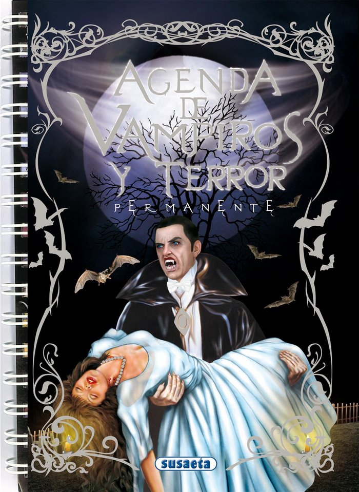 Agenda escolar permanente vampiros y terror 249004