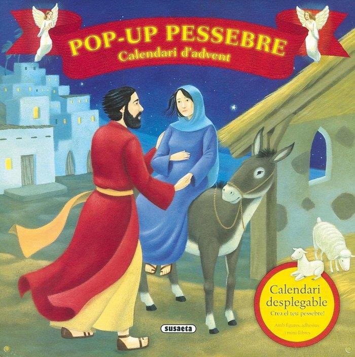 Calendari d'advent pop-up pessebre