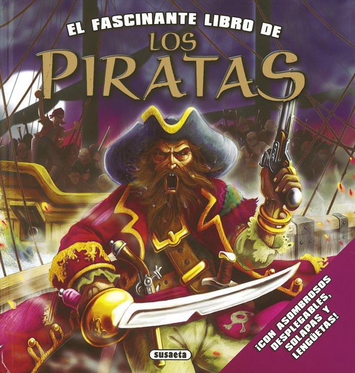 Fascinante libro de los piratas,el