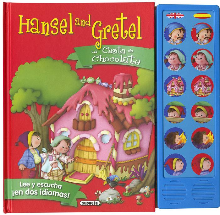 Casita de chocolate hansel and gretel,la