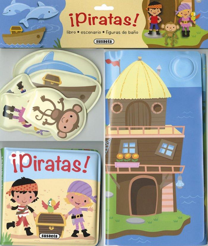 Piratas libro baño