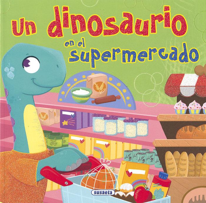 Un dinosaurio en el supermercado