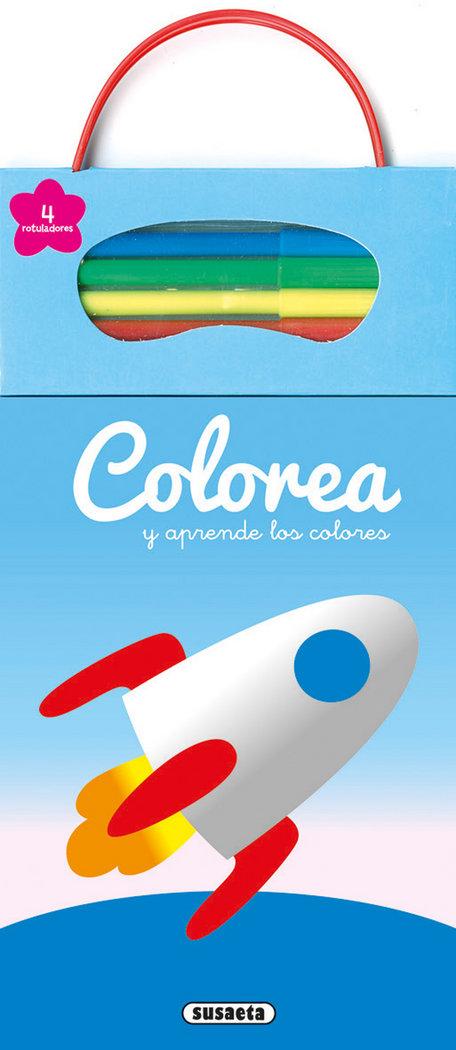 Colorea y aprende los colores