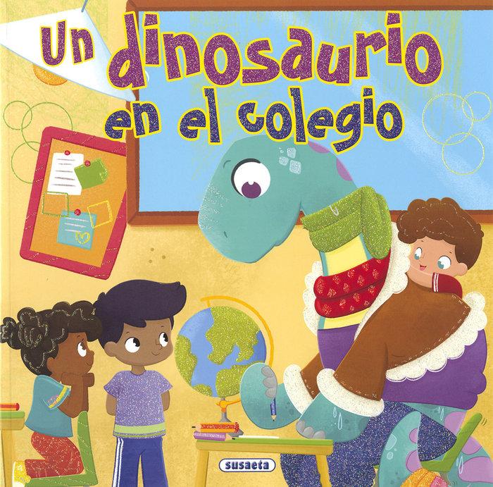 Un dinosaurio en el colegio