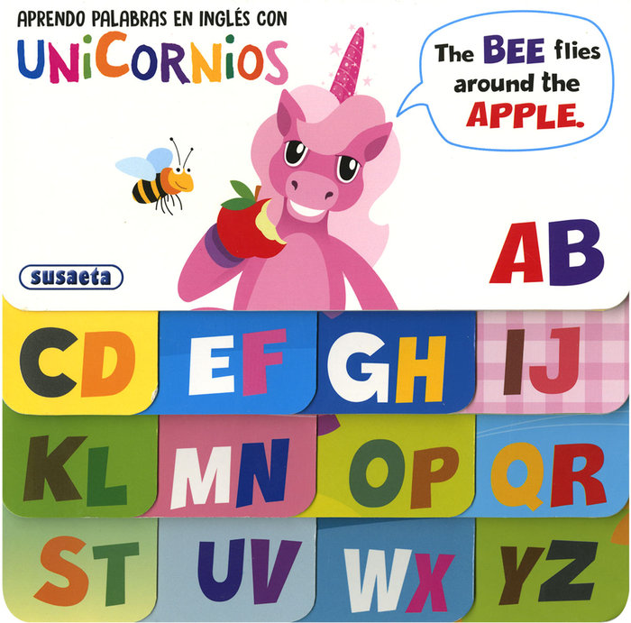 Aprendo palabras en ingles con unicornios