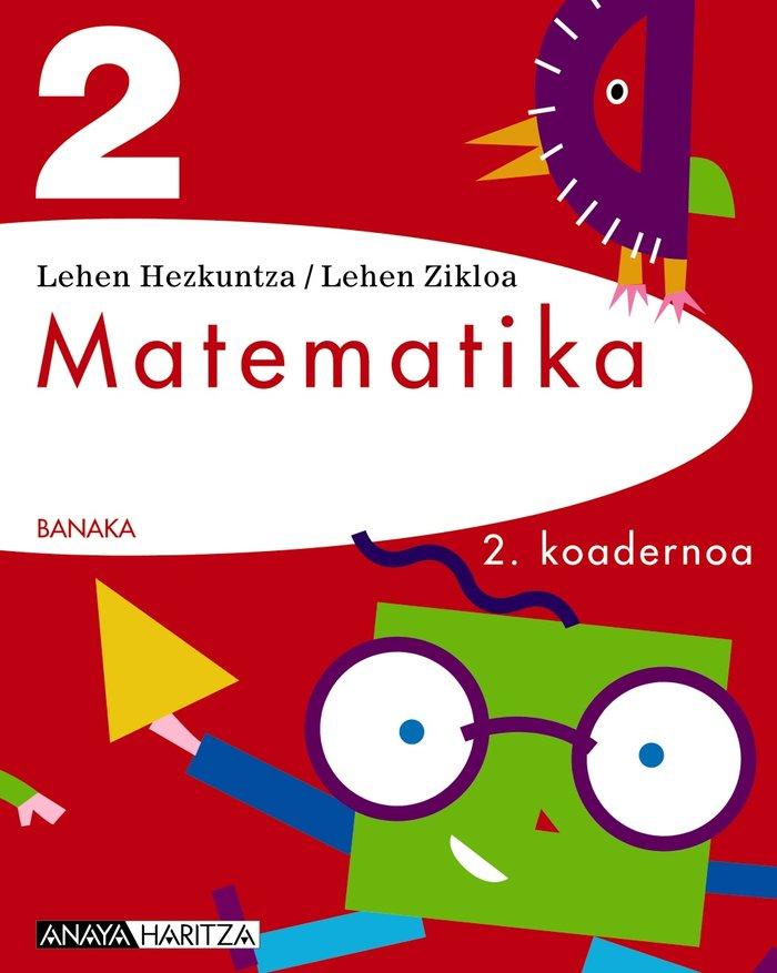 Matematika 2. 2 koadernoa