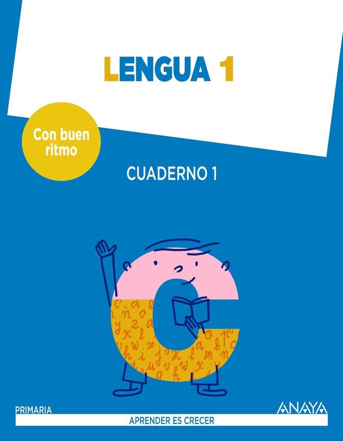 Cuaderno lengua 1 1ºep a mec 14 con buen ritmo