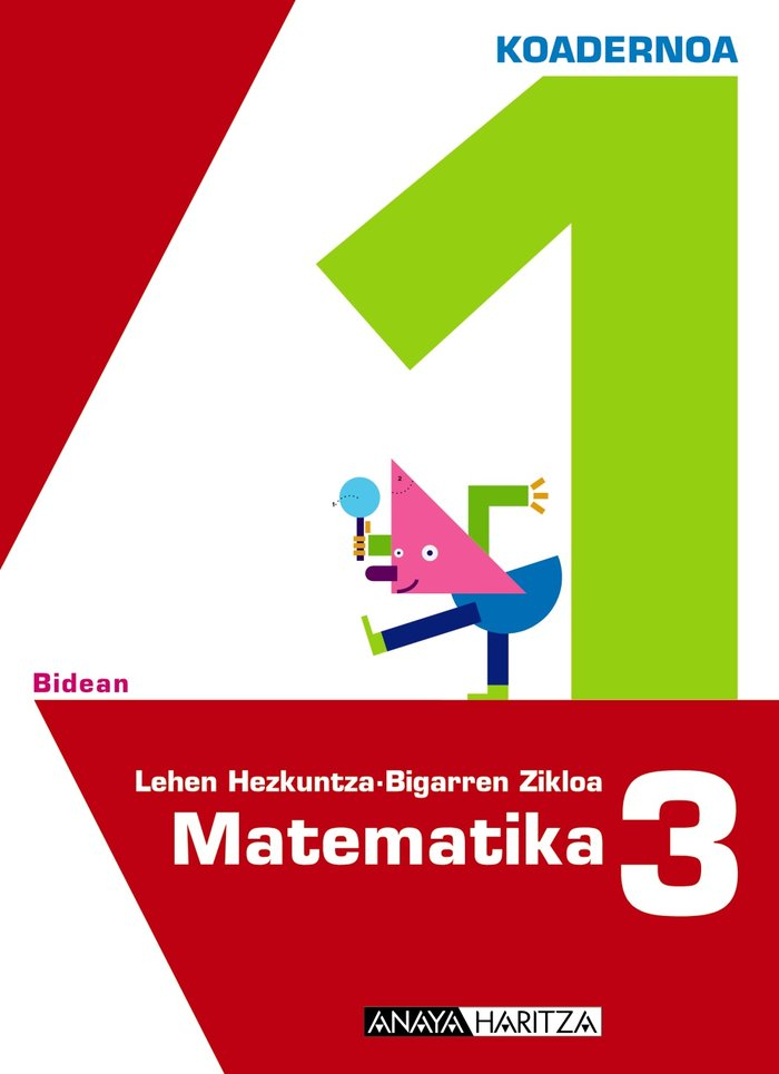 Matematika 3. 1 koadernoa