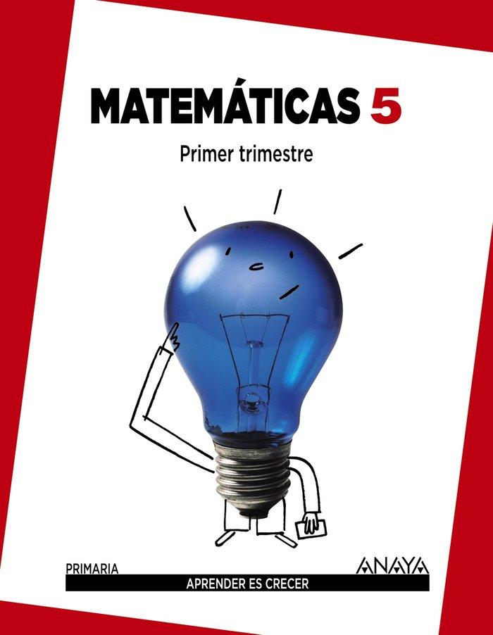 Matematicas 5ºep mec trimestres 14
