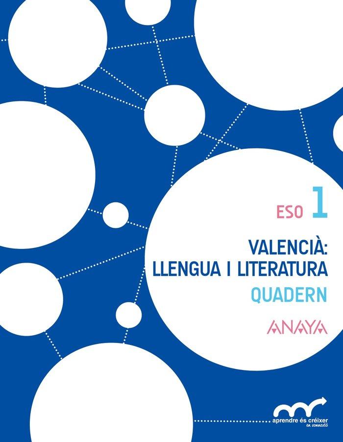 Valencia: llengua i literatura 1. quadern
