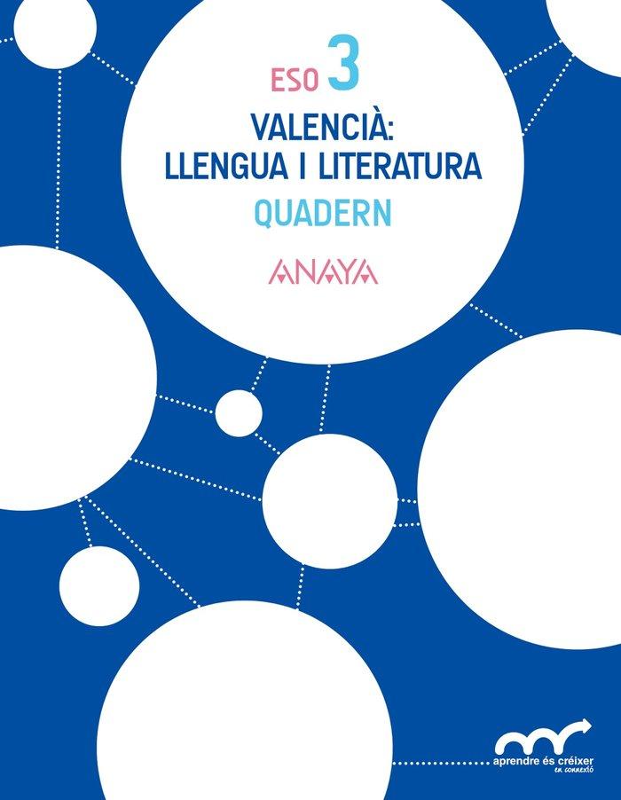 Valencia: llengua i literatura 3. quadern