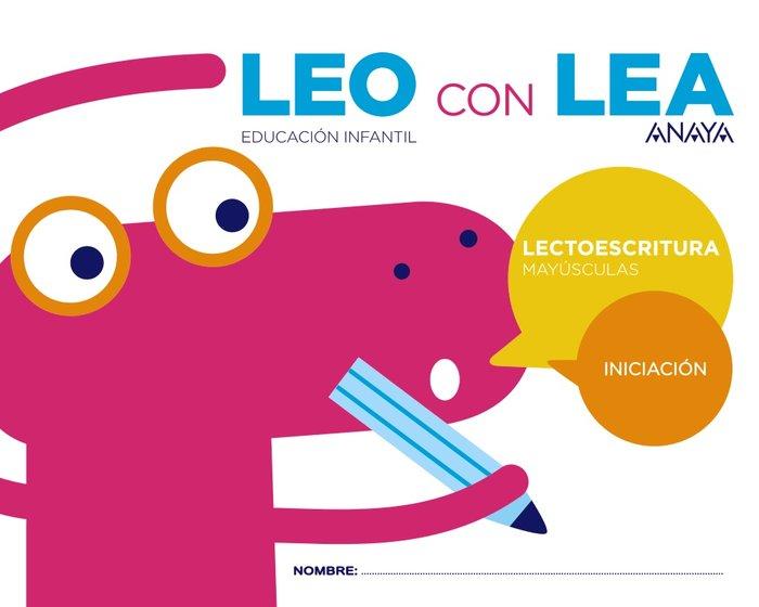 Leo con lea 3 iniciacion mayusculas ei 17