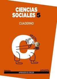 Cuaderno ciencias sociales 5ºep mec 14