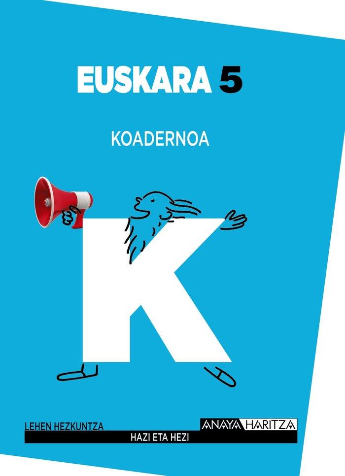 Euskara 5. koadernoa