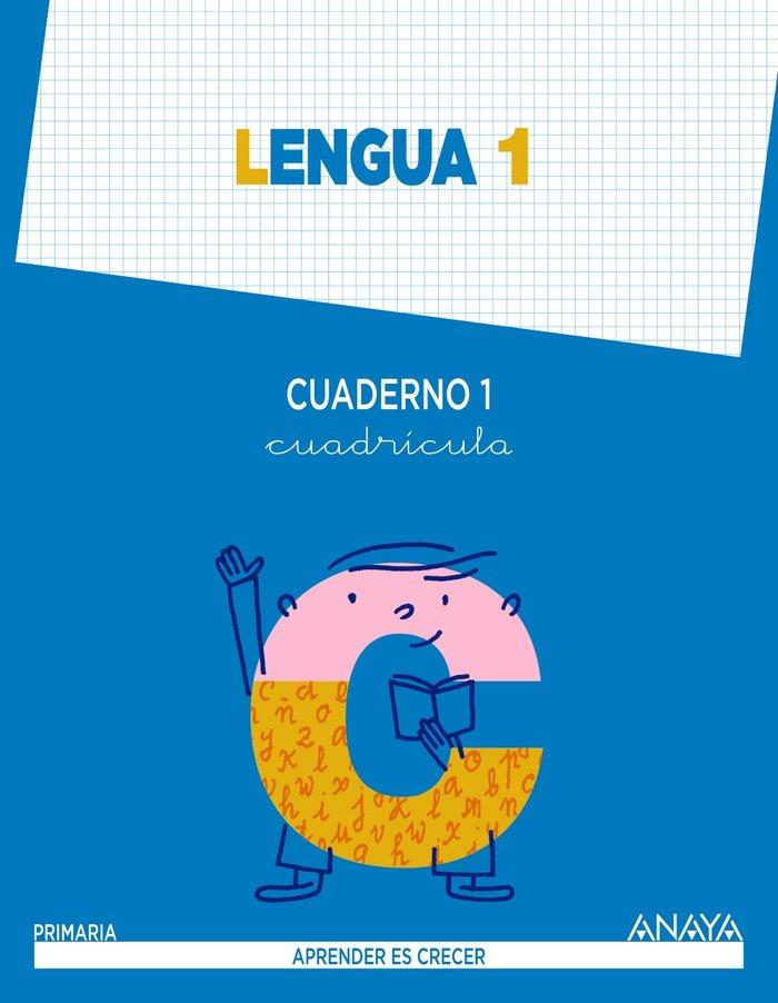 Cuaderno lengua 1 1ºep cuadricula mec 14