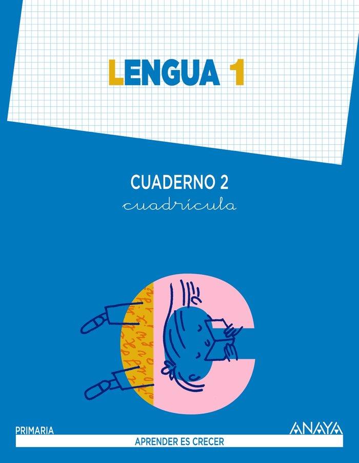 Cuaderno lengua 2 1ºep cuadricula mec 14