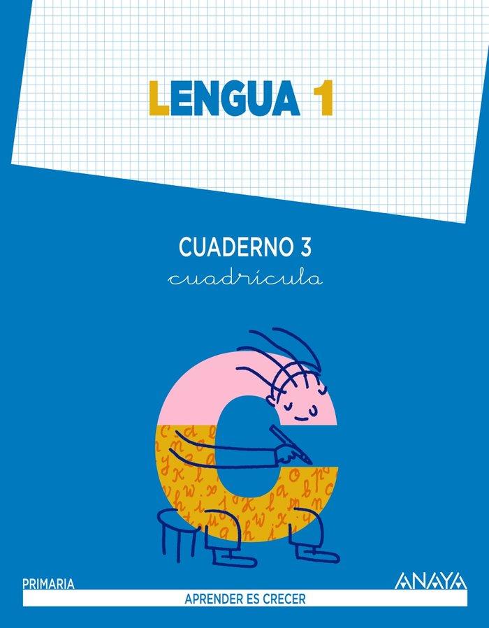 Cuaderno lengua 3 1ºep cuadricula mec 14