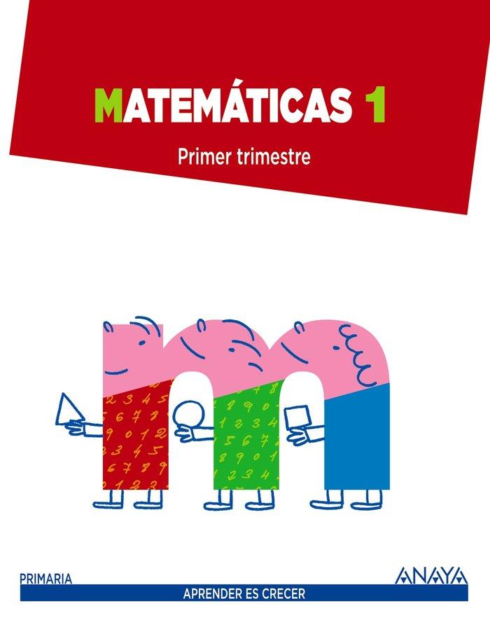 Matematicas 1ºep mec trimestres 14