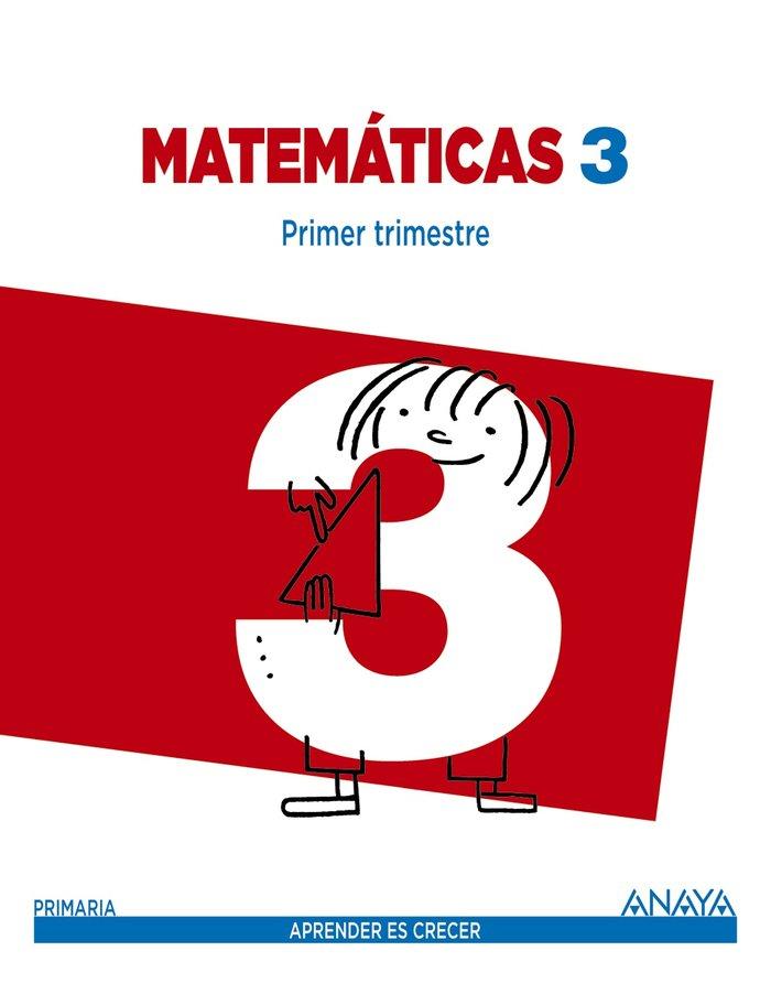 Matematicas 3ºep mec trimestres 14