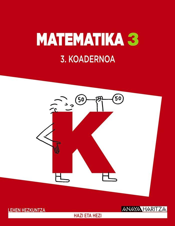 Matematika 3. koadernoa 3