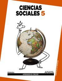 Ciencias sociales 5ºep c.mancha 14 apren.crecer