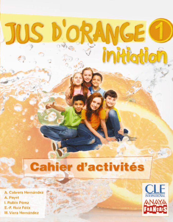 Jus d'orange 1 5ºep cahier initiation 14