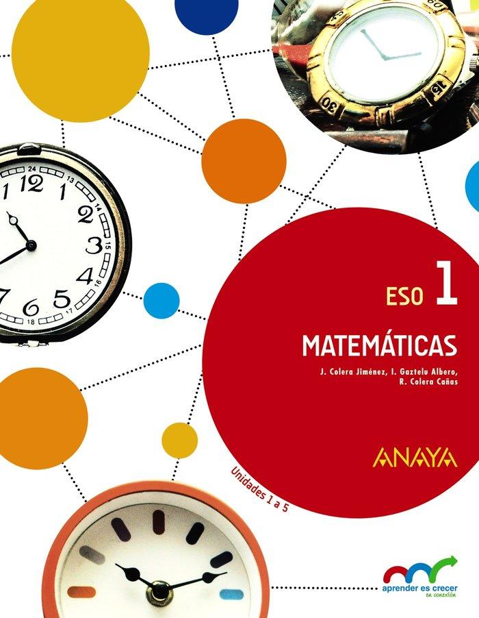Matematicas 1ºeso trimestres mec 15