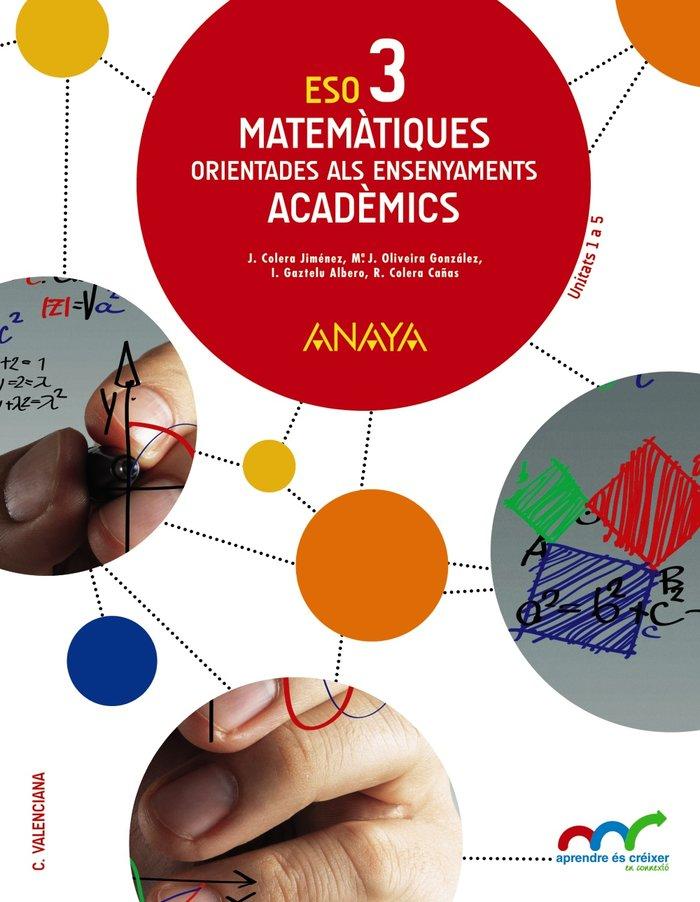 Matematiques academics 3ºeso valencia 15