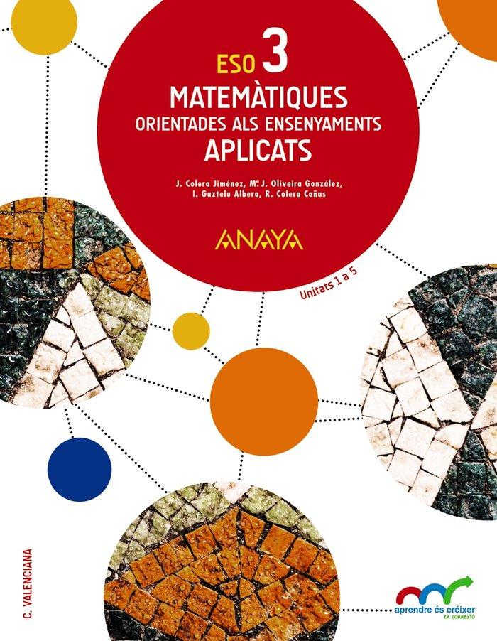 Matematiques orientades als ensenyaments aplicats