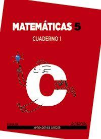 Cuaderno matematicas 1 5ºep mec 14