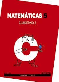 Cuaderno matematicas 2 5ºep mec 14