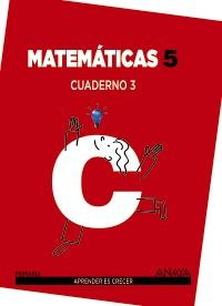 Cuaderno matematicas 3 5ºep mec 14
